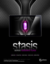 Stasis Radiated Fuxia by submicron