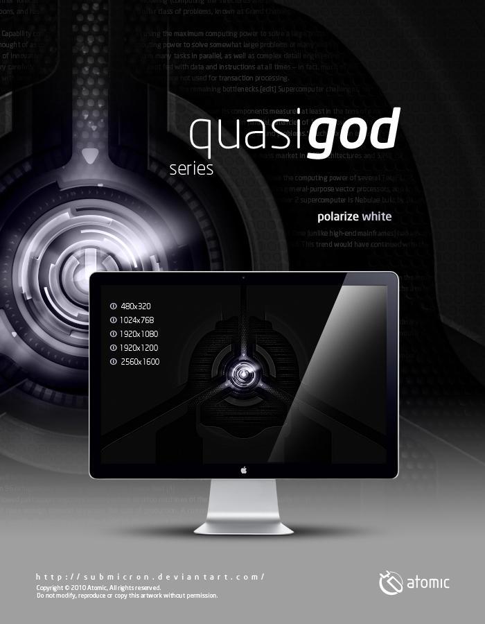 Quasi-God Polarize White by submicron