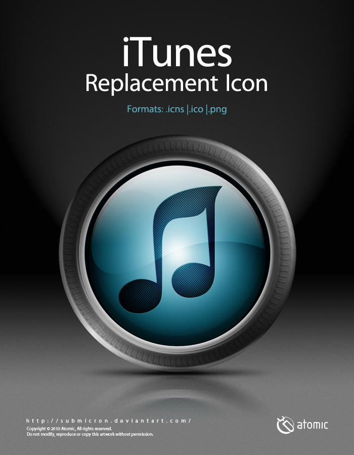 iTunes Replacement Icon by submicron