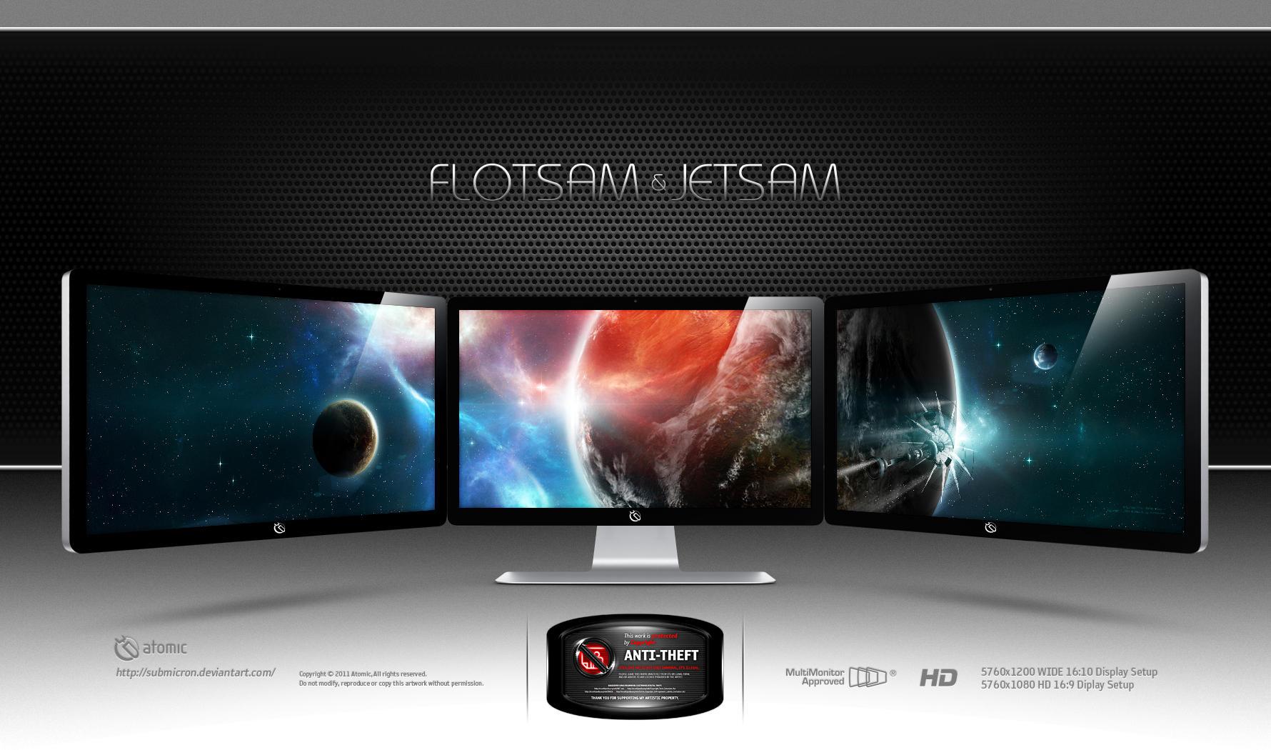 Flotsam and Jetsam by submicron
