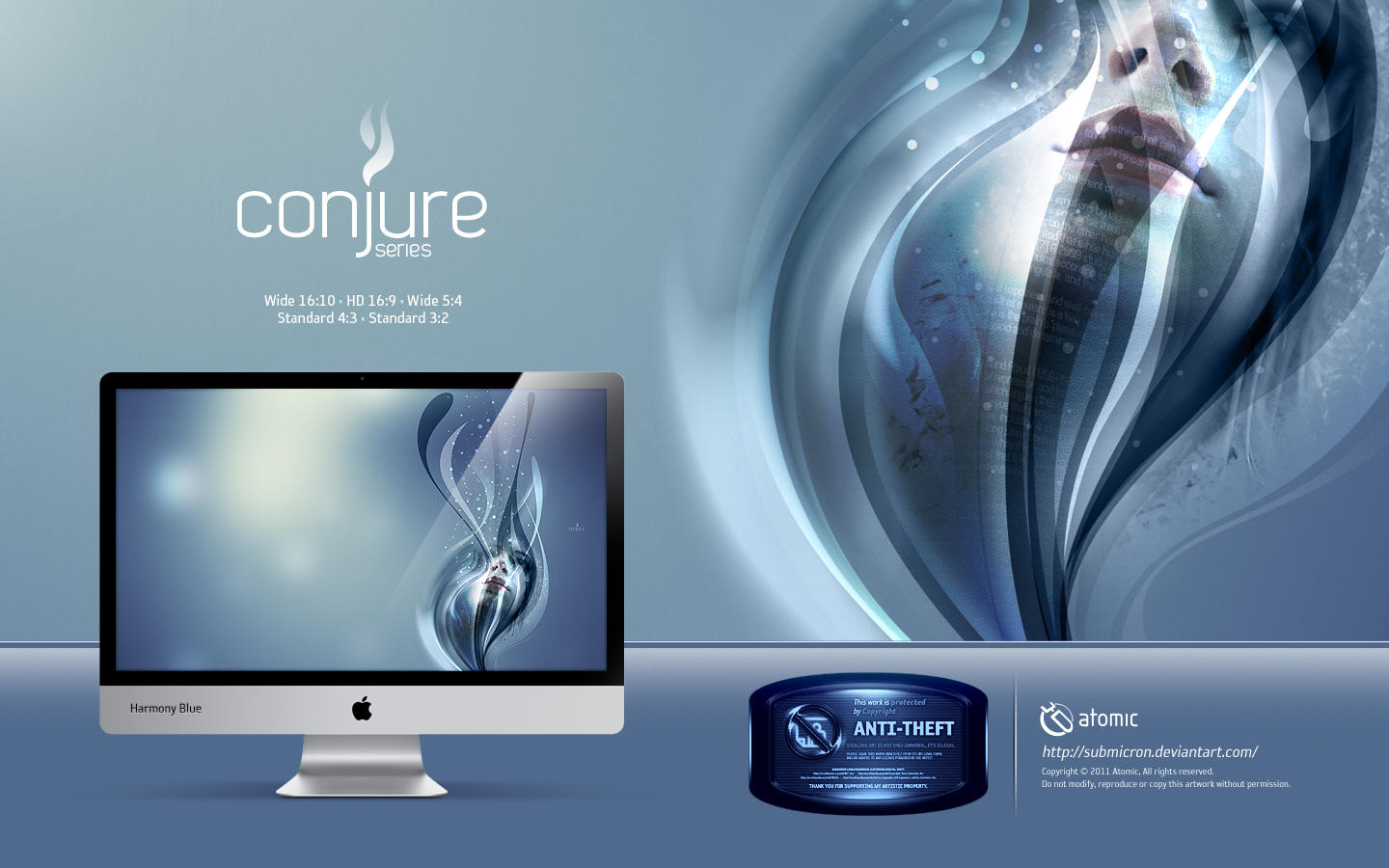 Conjure Harmony Blue by submicron