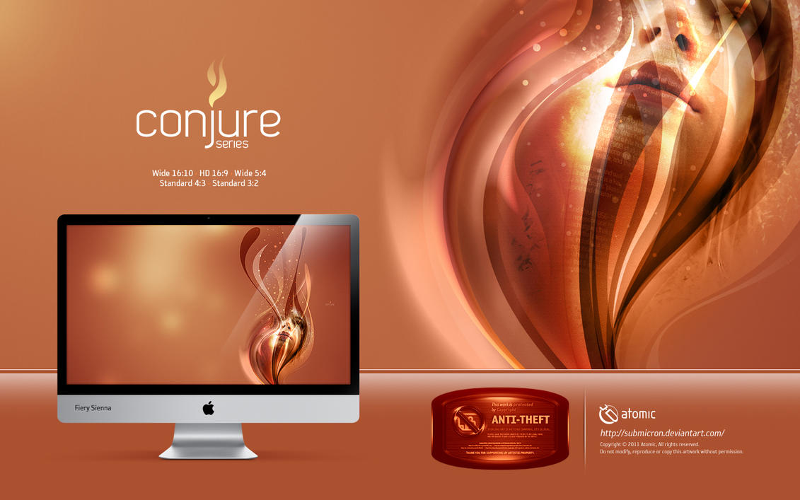 Conjure Fiery Sienna by submicron