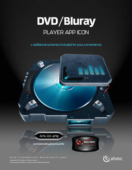 DVD-Bluray Player App Icon