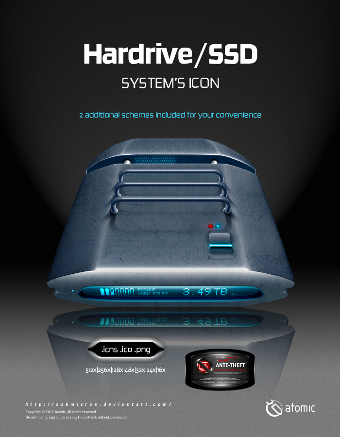 Hardrive Systems Icon by submicron