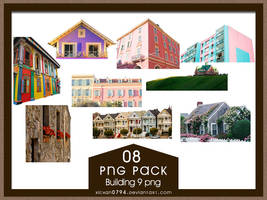 PNG PACK08 Building 9 png by xichan0794