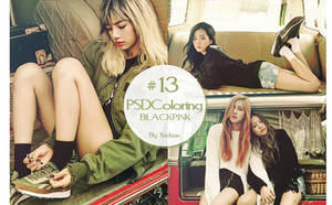 #13 PSD Coloring by xichan