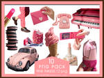 PNG PACK10 Pink Things 10 png by xichan0794