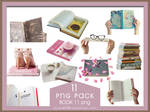 PNG PACK11 BOOK 11 png by xichan0794