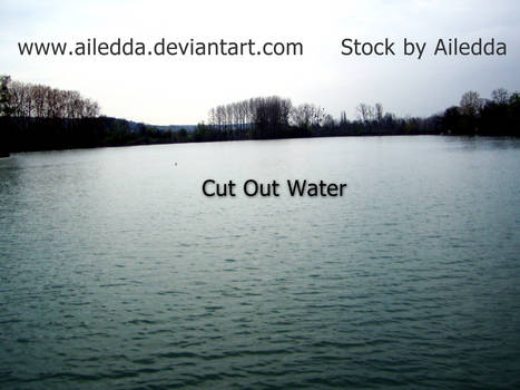 Cut out water...