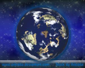 Planet Earth by Ailedda