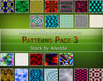 Patterns Pack 3 by Ailedda