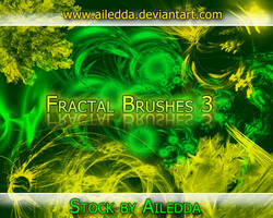 Fractal Brushes Pack 3 by Ailedda