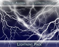 Lightning Brushes by Ailedda by Ailedda