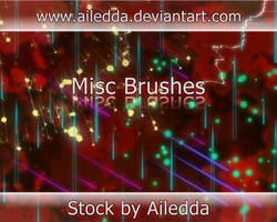 Misc Brushes by Ailedda by Ailedda