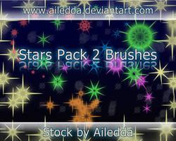 Star Brushes 2 by Ailedda by Ailedda
