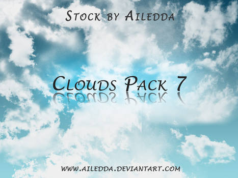 Clouds Pack 7 by Ailedda