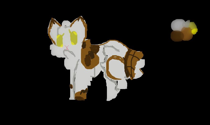New warrior cat oc: Timberfall by LittleNano12