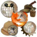 Steampunk Victorian Browsers Icons