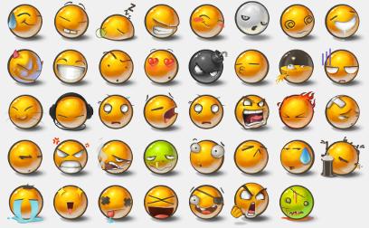 Yolks Emots by Doenerkinq