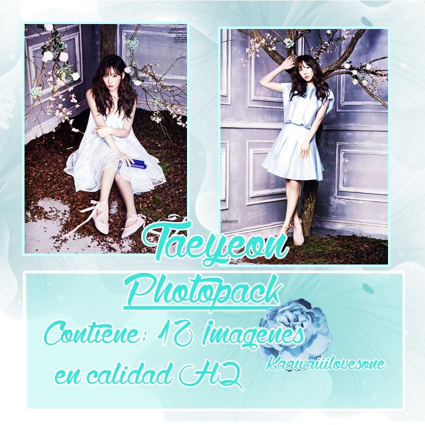 Taeyeon~ Photopack#2~Kaawaiiilovesone by Kaawaiiilovesone
