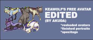 Keawolf's freebie - edited