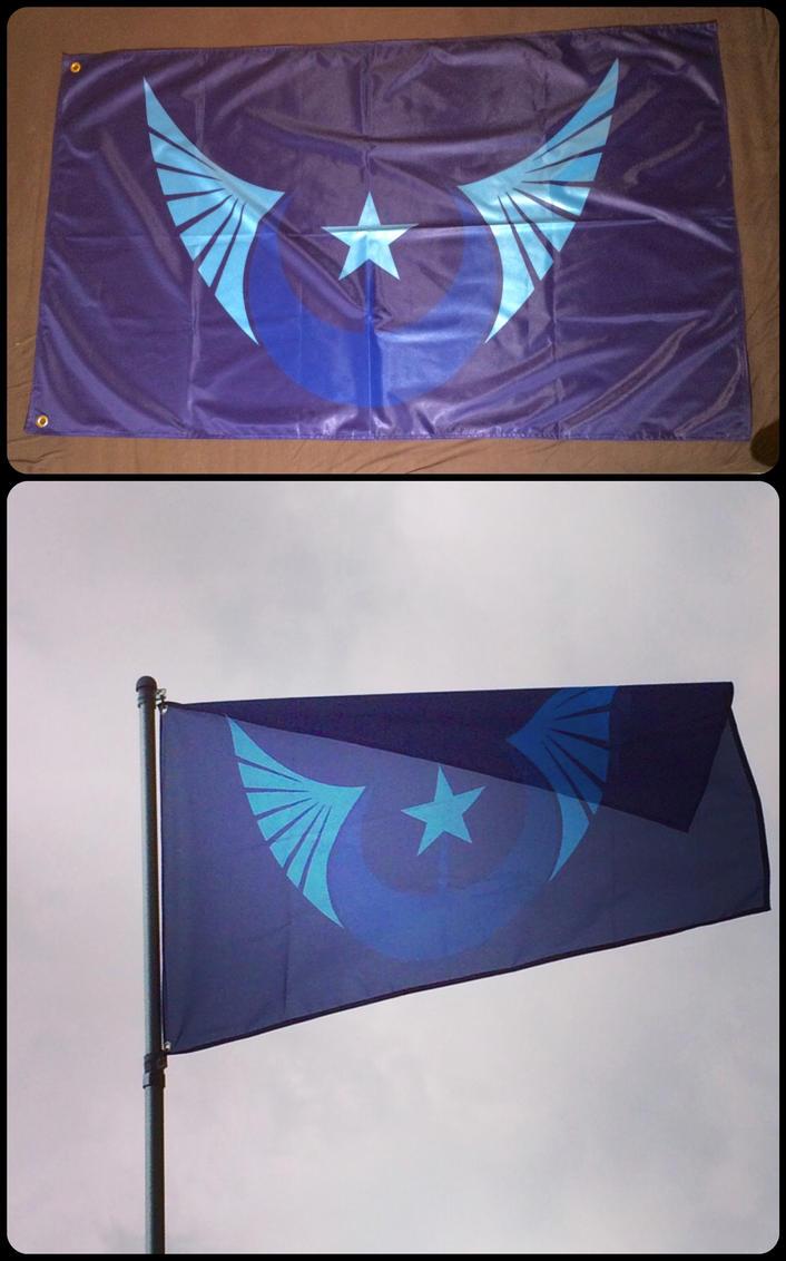 New Lunar Republic Flag by ojim-Designs
