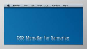 OSX MenuBar for Samurize