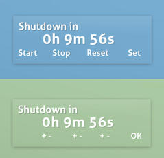 Shutdowner for Rainmeter by zzeneg