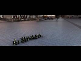 Linux : Rebel Penguin by nikhil