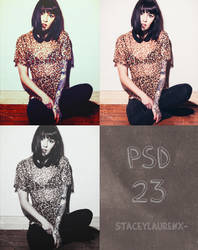 Colouring PSD #23 by staceylaurenx