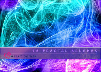 Fractal Brushes by HeartDriven
