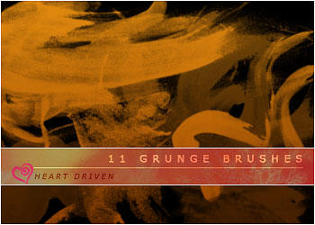 Grunge Brushes by HeartDriven