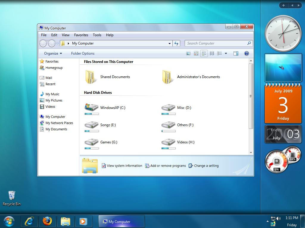 Nero Installer pour Windows 7