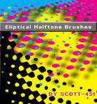 Eliptical Halftone brushes