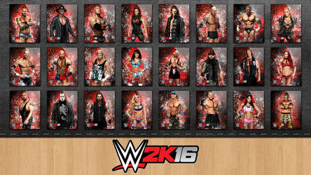 Icon Pack WWE 2K16