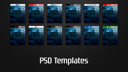 Pack PSD Templates