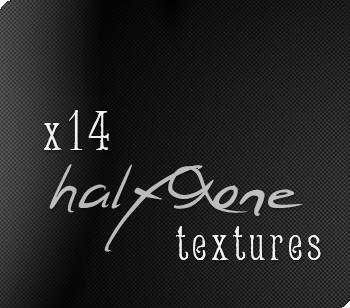 x14 HALFTONE textures by crossroadblues