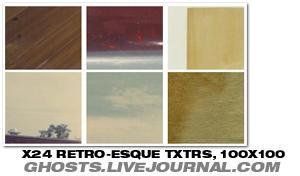 Retro-esque Textures by crossroadblues
