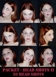 Package - Head Shots II by SilverMelindaStock