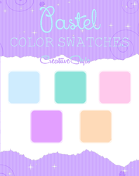 Pastel Color Swatches by CreatiiveStyle