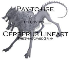 Cerberus Lineart [P2U]