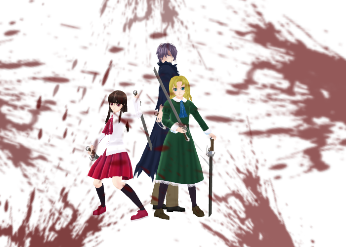 MMD Kill everything Pose DL by epicbubble7