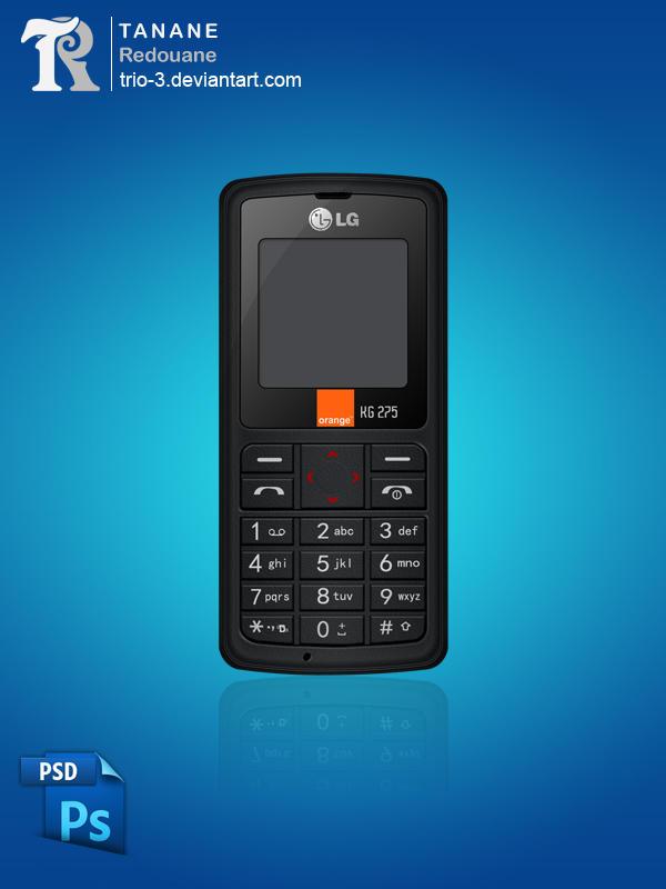 Mobile LG kg 275 by TRIO-3
