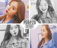[PSDcoloring] 8.2015 - PSD#26 by shinbyun2k2