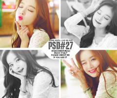[PSDcoloring] 9.2015 - PSD#27 by shinbyun2k2