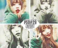 [PSDcoloring] 11.2015 - PSD#29 by shinbyun2k2
