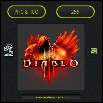 Diablo III Tyrael - ICON by IvanCEs