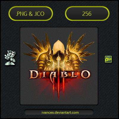 Diablo III Tyrael - ICON v2 by IvanCEs