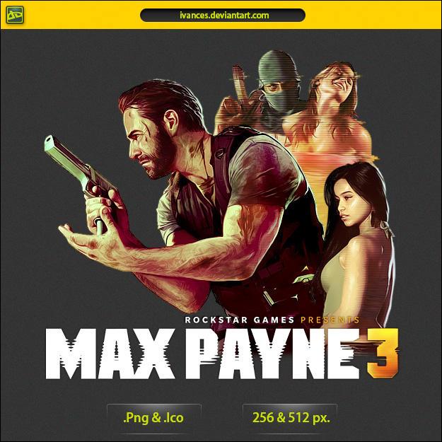 Max Payne 3 - ICON v2 by IvanCEs