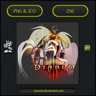 Diablo 3 Archangels - ICON by IvanCEs
